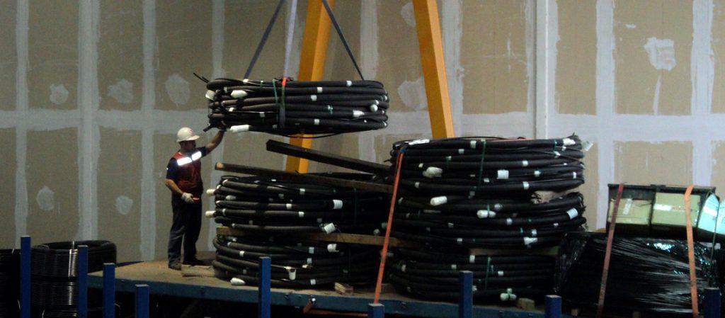 Fábrica industrializada de Anclajes Postensados