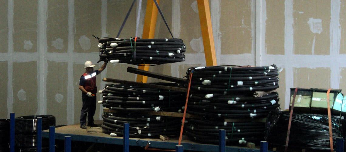 Única fábrica industrializada de Anclajes Postensados en Chile