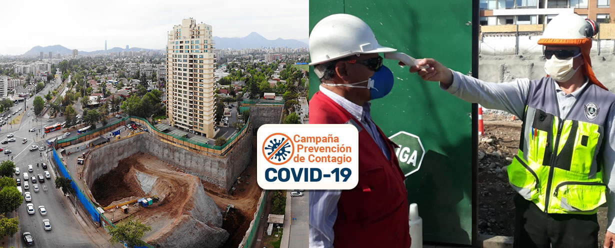 Contamos con Protocolos COVID para nuestros colaboradores y obras