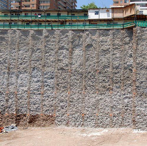 Entibación Edificio Mistral Nueva Las Condes